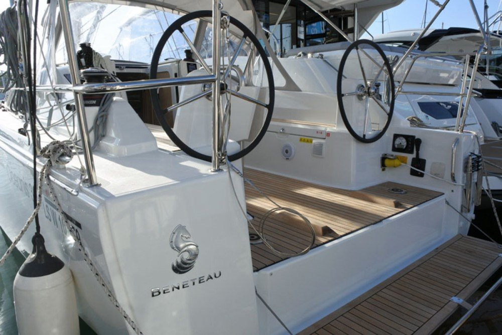 oceanis 31 twin steering