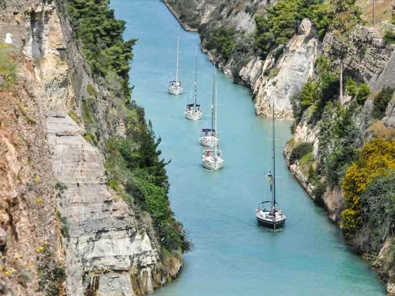 Athens to Corinth Delivery Flotilla